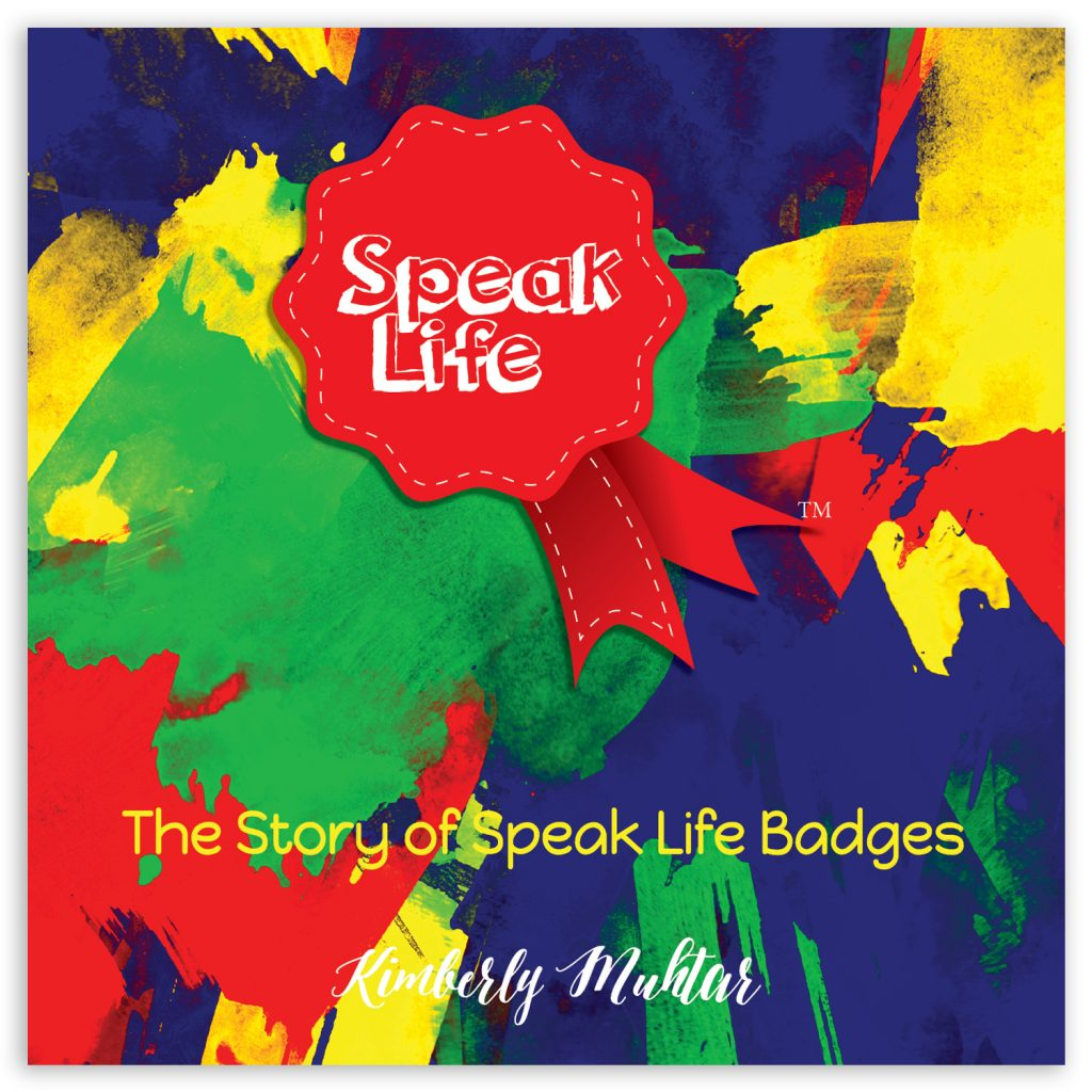 Speak Life Badges Promotional Booklet Front Cover