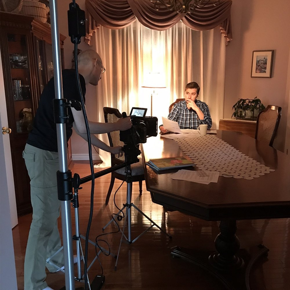 Making a promotional video
