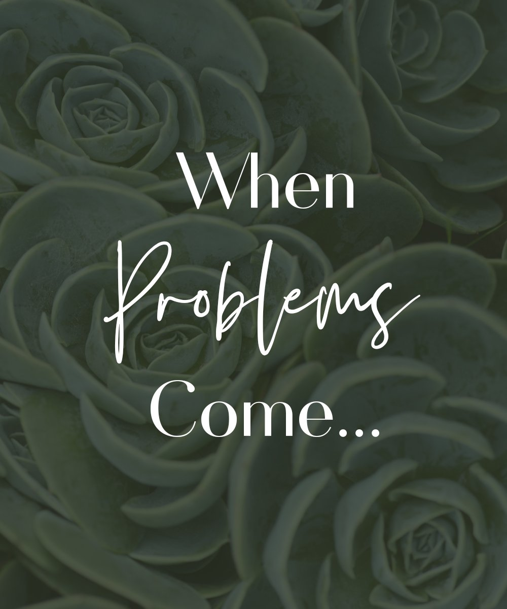 When Problems Come title page