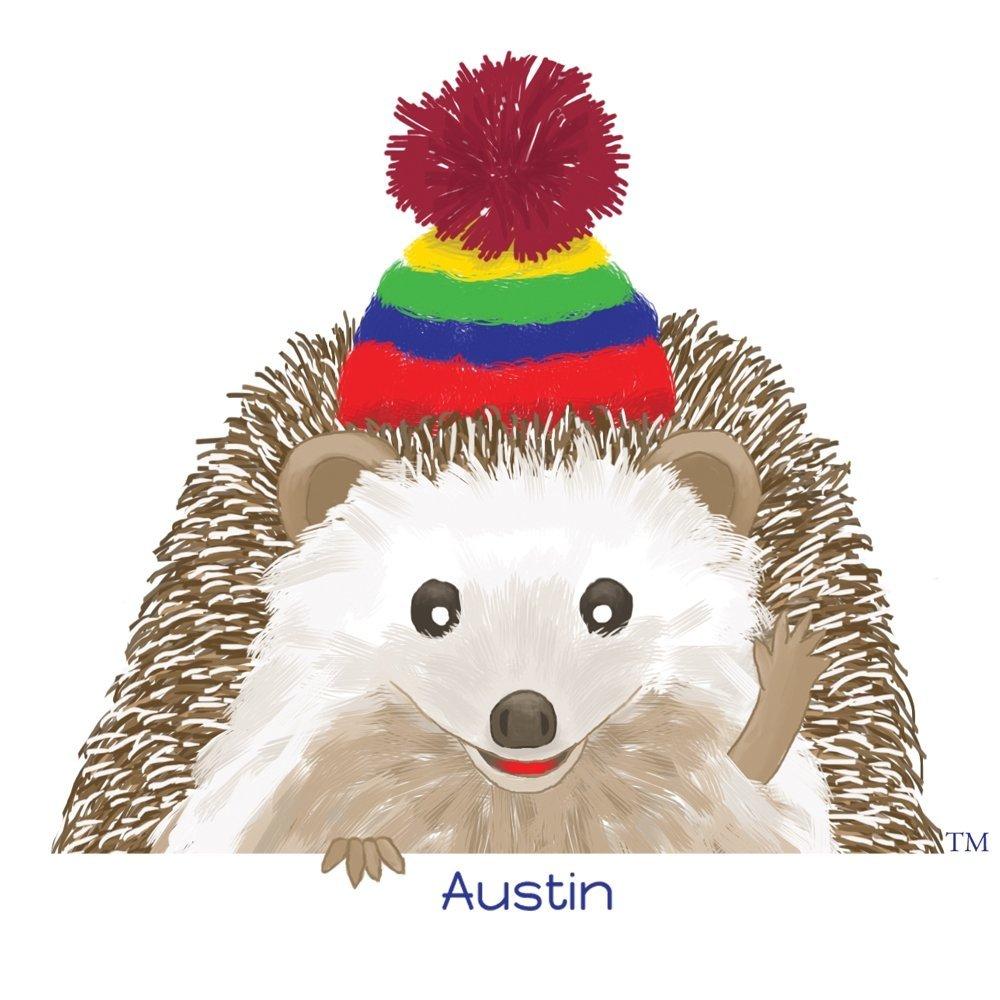 Austin the hedgehog mascot