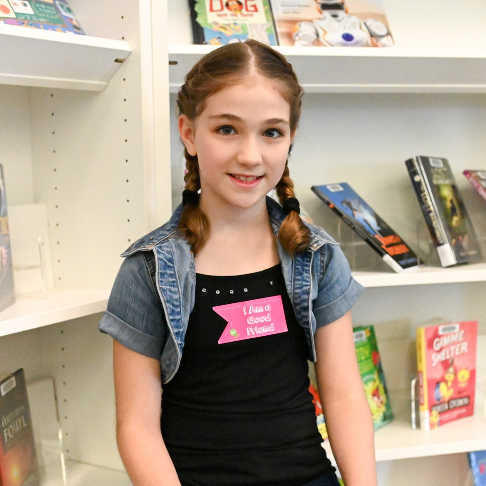 Eleven Year old baker, Brielle