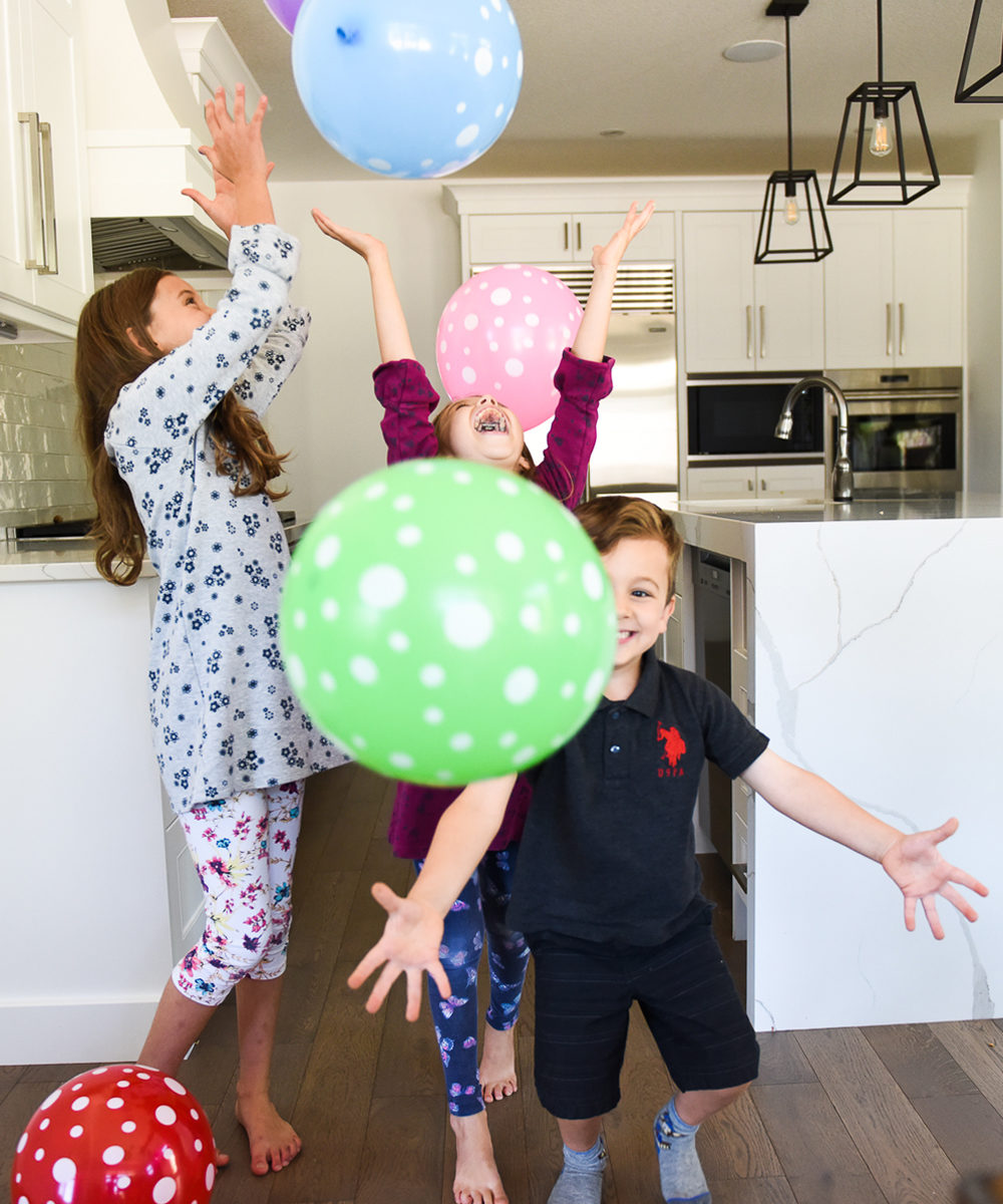 excited about new kids journal balloons