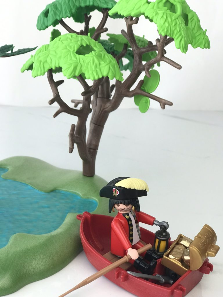 playmobil pirate - when hard things come