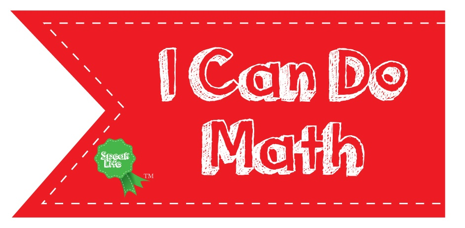 I Can Do Math Sticker Award