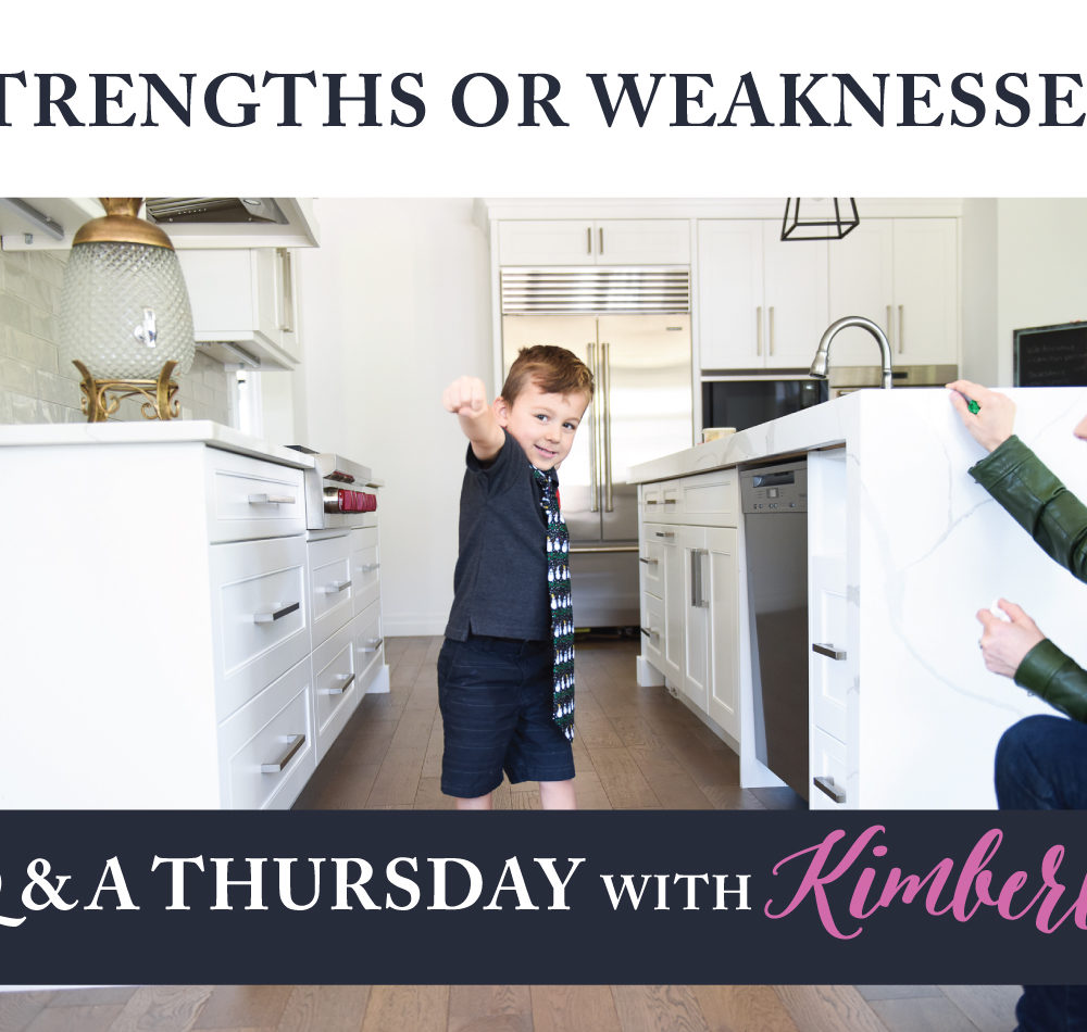 strengths or weaknesses