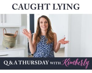 Caught Lying